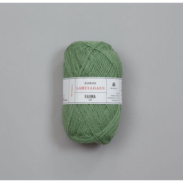 Rauma Garn Lamull - L54 Jadegrønn