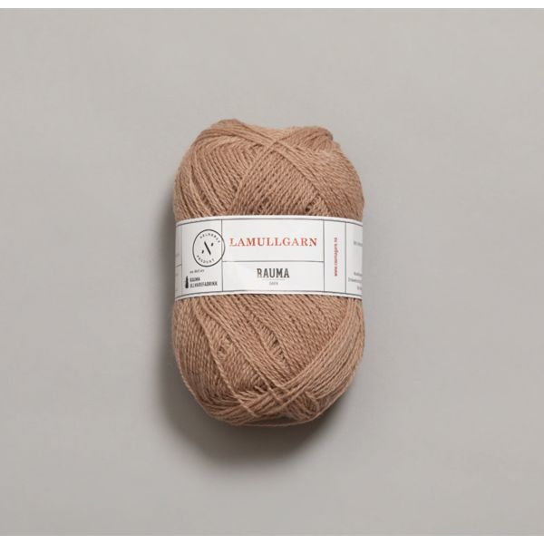 Rauma Garn Lamull - L52 Støvet rosa