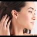Opal Colour Gold Stud Earrings