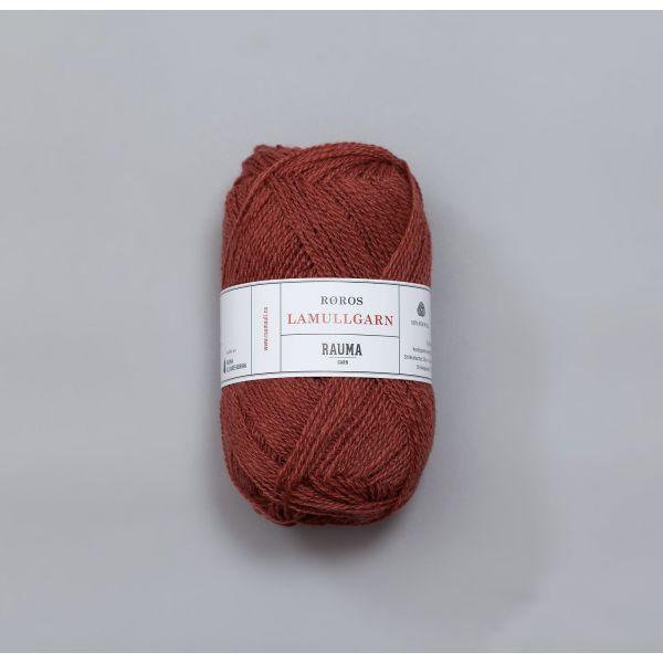 Rauma Garn Lamull - L28  Terrakotta