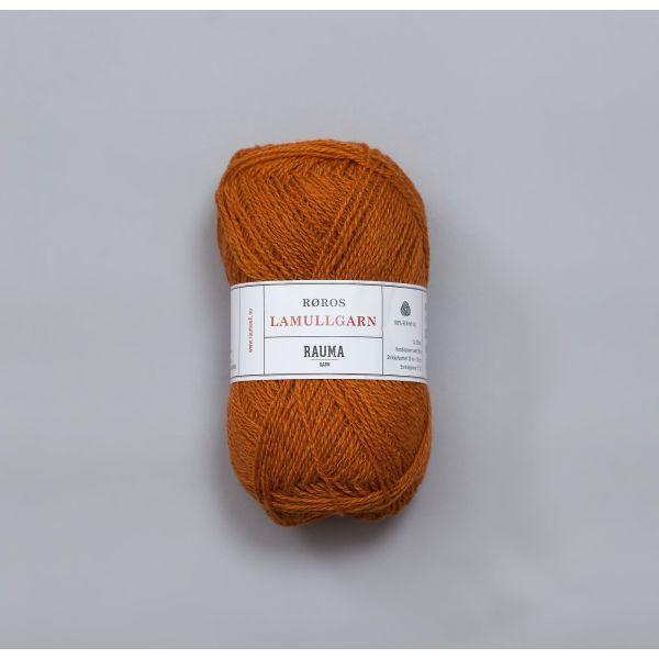 Rauma Garn Lamull - L27  Guloransje