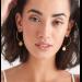 Gold Boreas Hoop Earrings