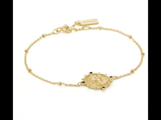 Gold Victory Goddess Bracelet