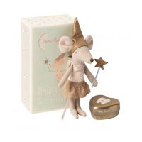 Maileg -  Tooth fairy mouse in a box, big sister