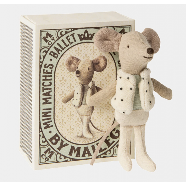 Maileg - ballet mini mouse, little brother mouse