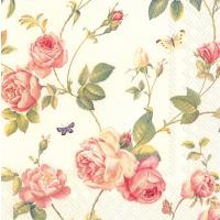 """""""New Rambling Rose"""" lunsjserviett"""