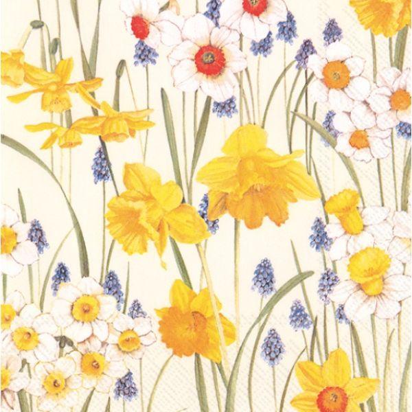 """Flowers of Spring"" lunsjserviett"