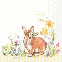 """""""Lovely Bunny"""" kaffeserviett"""
