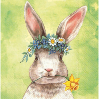 "Servietter, ""Easterfriends bunny"""