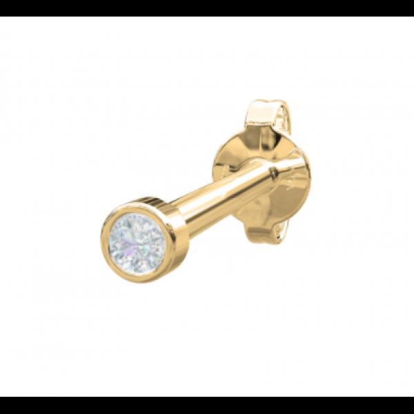 14 Kt. - Diamant RUND