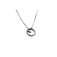 Kompass sølvsmykke