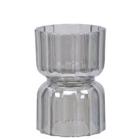 Enrico telysholder / amaryllis glass