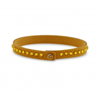 Tennis Solo Bracelet Yellow