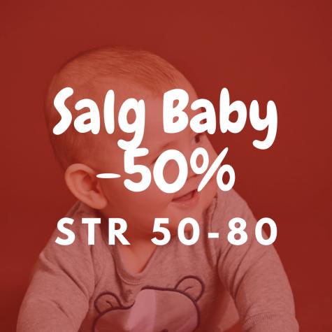 SALG BABY -50%