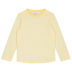 GRAY LABEL - GENSER STRIPED MELLOW YELLOW/OFFWHITE