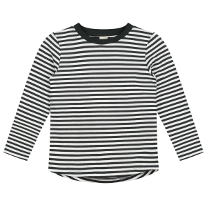 GRAY LABEL - GENSER STRIPED NEARLY BLACK/OFFWHITE
