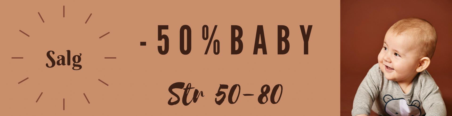 Januarsalg baby -50%