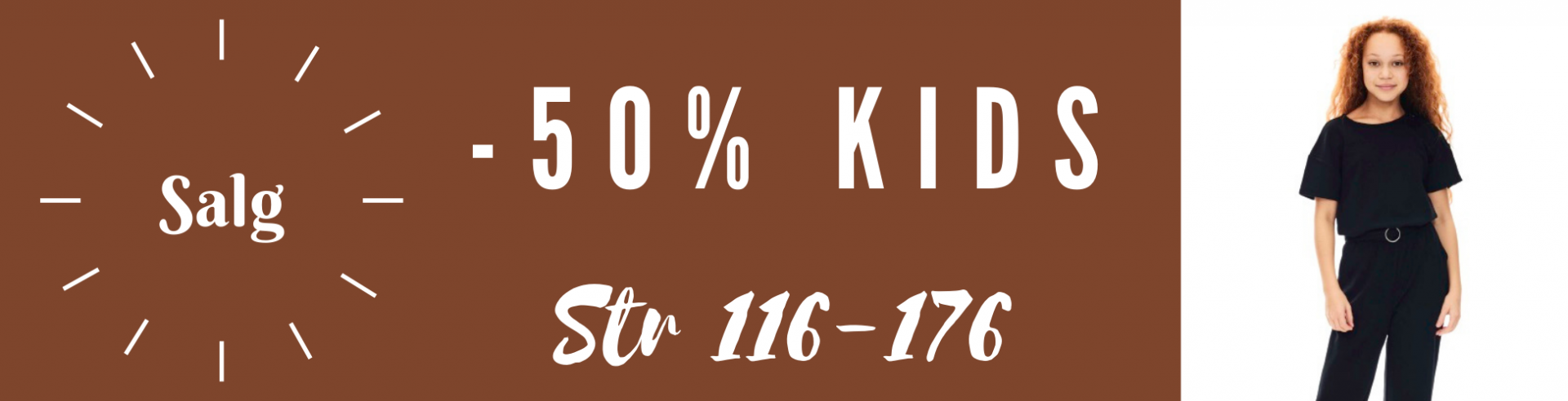 Januarsalg kids -50%