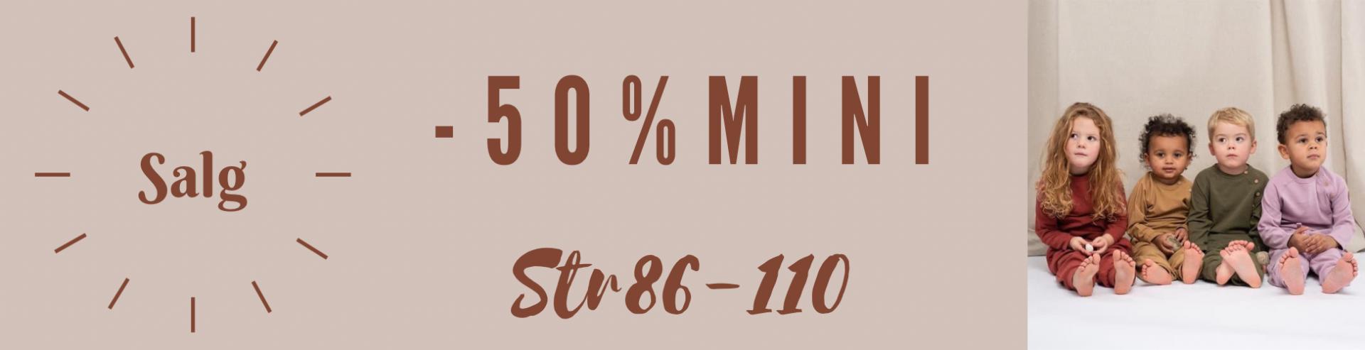 Januarsalg mini -50%