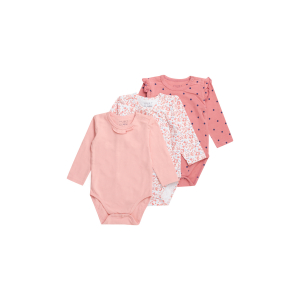 Hust & Claire Blue 3-pk body baby