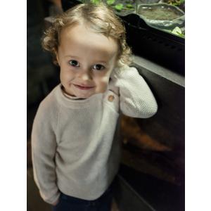 Hust & Claire Pascal strikket genser mini
