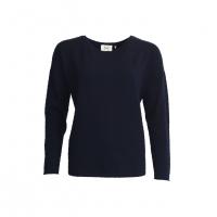 Frigga Navy Knit Pullover