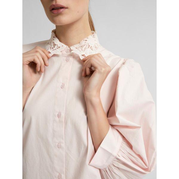 Romance skjorte rosa