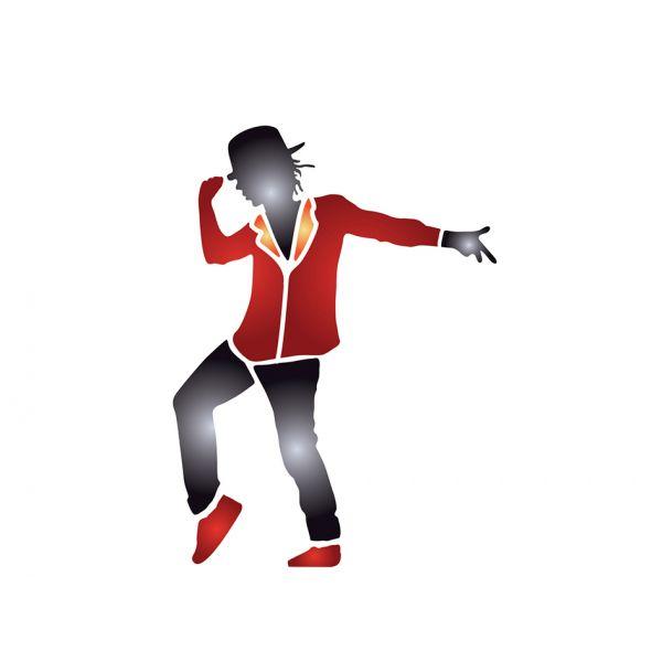 Pronty Sjablong A4 – Danser
