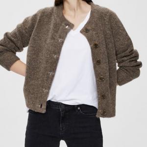 Sia Knit Cardigan Fossil
