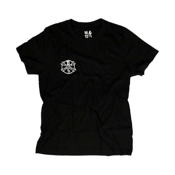 13-1/2 LOGO T-SHIRT BLACK