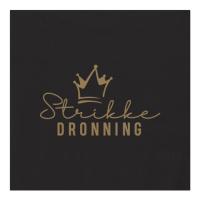 Servietter - Strikkedronning