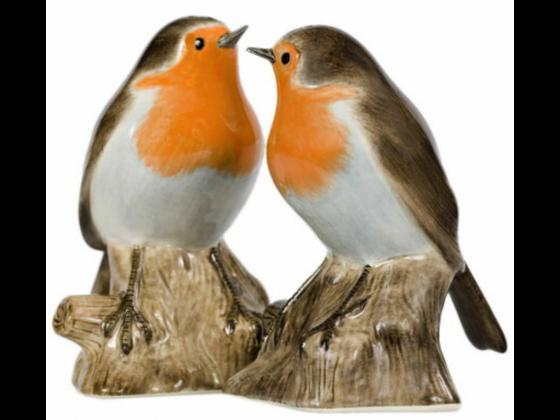 Fuglepar i Salt&Pepper fra QUAIL CERAMICS
