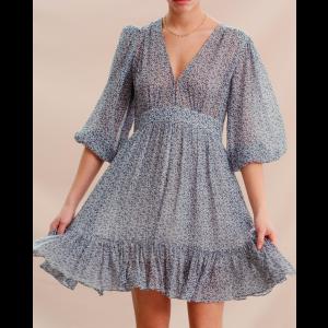 Delicate Semi gown