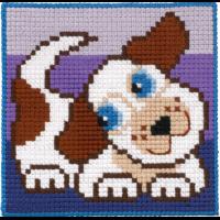Barnebroderi - Hund