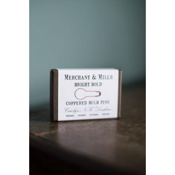 Coppered Bulb Pins - Merchant & Mills