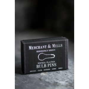 Nickel Bulb Pins - Merchant & Mills