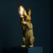 Kaninlampe gull