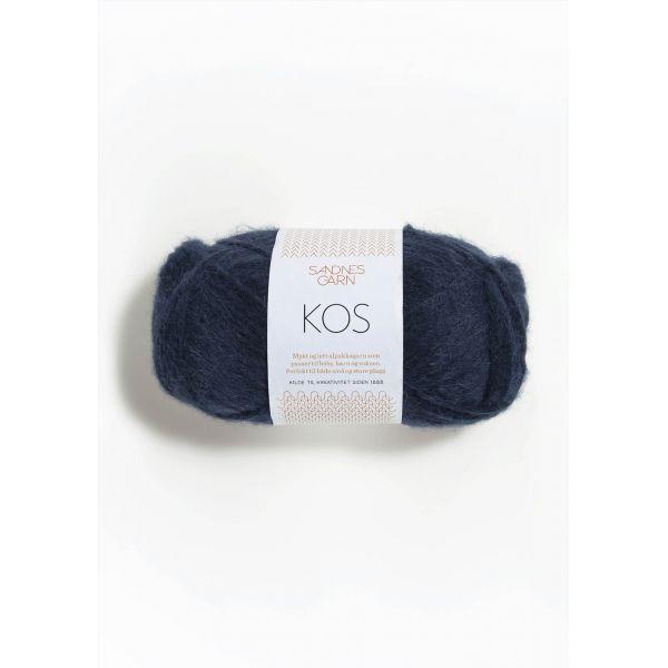 Kos  6079 Marineblå - Sandnes Garn