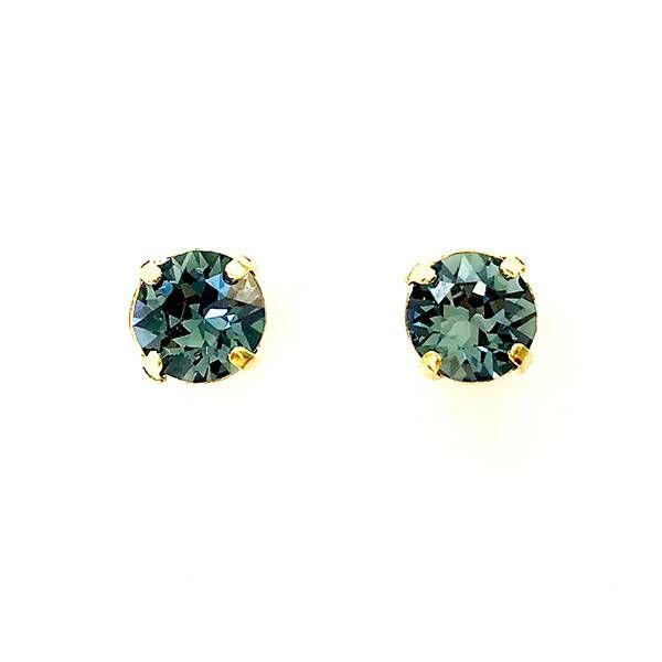 Twins Atelier Øredobber - Denim Blue Gold