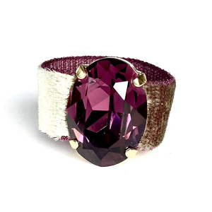 Twins Atelier Ring - Velvet Amethyst Gold