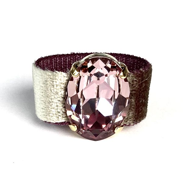 Twins Atelier Ring - Velvet Antique Pink Gold
