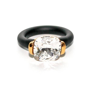 Twins Atelier Ring - Square Moonlight Gold