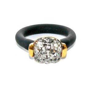 Twins Atelier Ring - Silver Platina