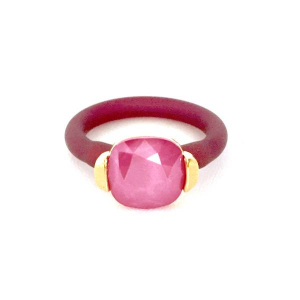 Twins Atelier Ring - Pink Yarrow Gold