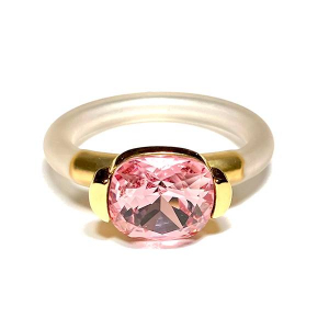 Twins Atelier Ring - Light Rose Gold