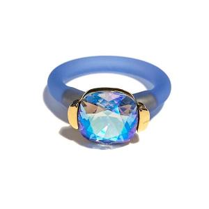 Twins Atelier Ring - Light Sapphire Gold