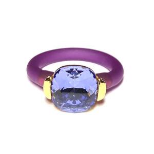 Twins Atelier Ring - Tanzanite Gold