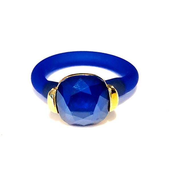 Twins Atelier Ring - Royal Blue Gold