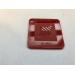 Akryl 3mm rød 30x21cm
