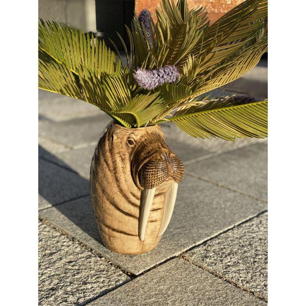 Hvalross vase fra QUAIL CERAMICS